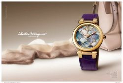SALVATORE FERRAGAMO WATCHES ADV 2013